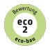 label eco bau eco2 bew de 72
